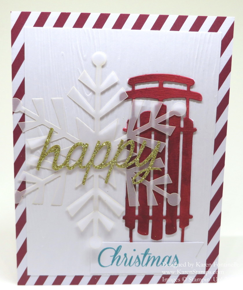 Watercolor Winter Card Kit