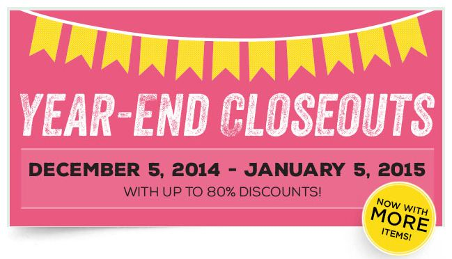 Stampin' Up! Year-End Closeouts