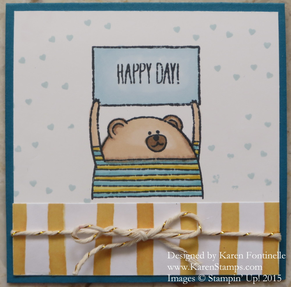 Cheerful Critters Happy Day Card