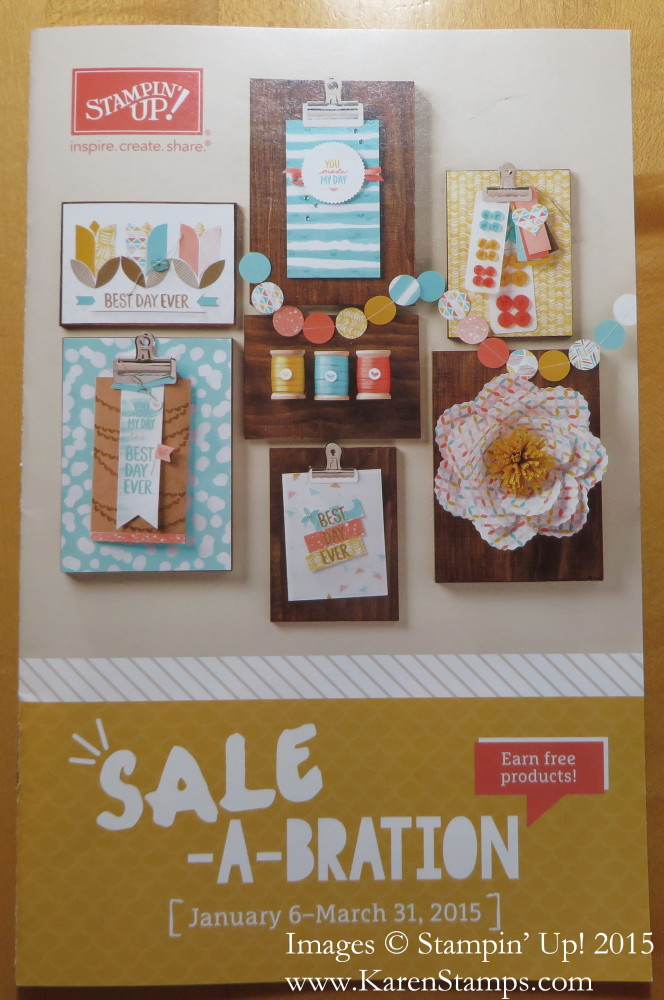 Sale-A-Bration Catalog Cover