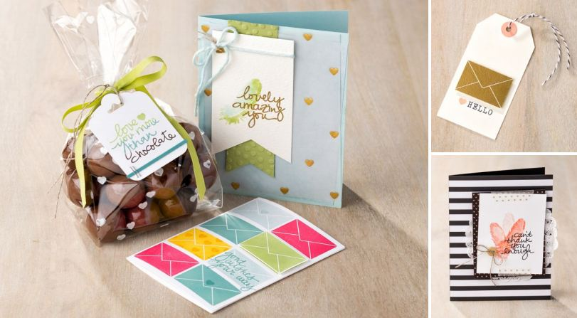 Lovely Amazing You Stamp Set Samples