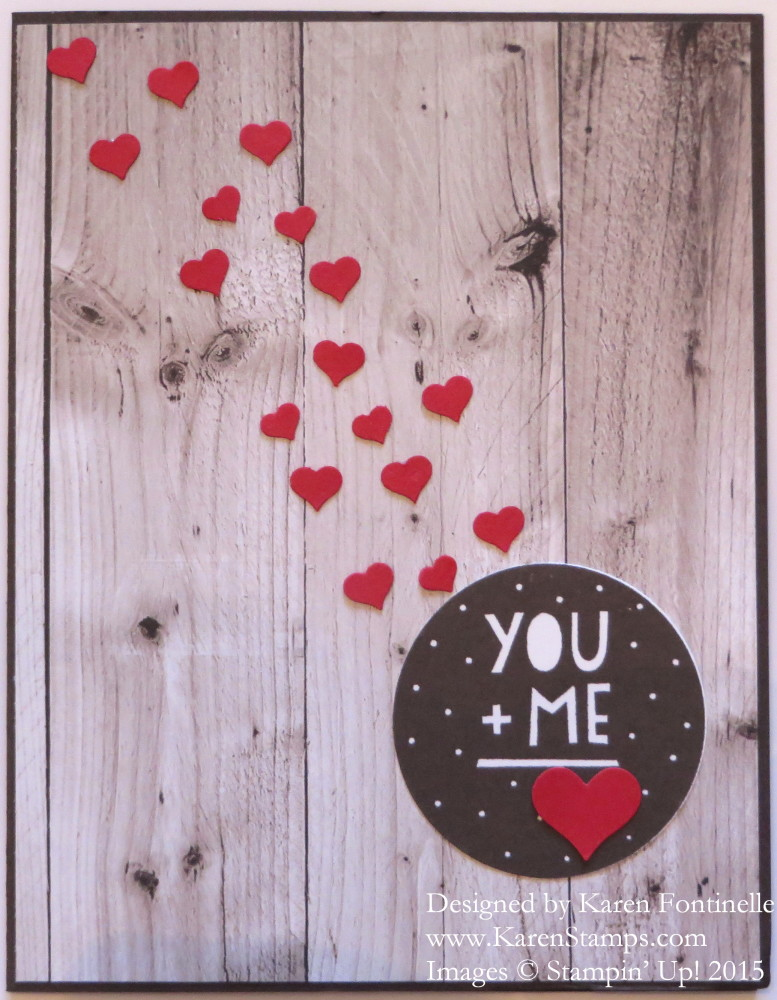 Masculine Valentine Card for Your Husband