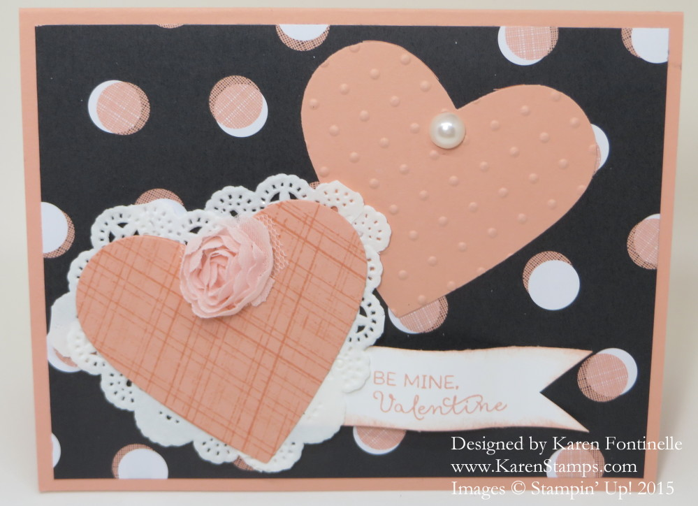Stacked With Love Valentine Card