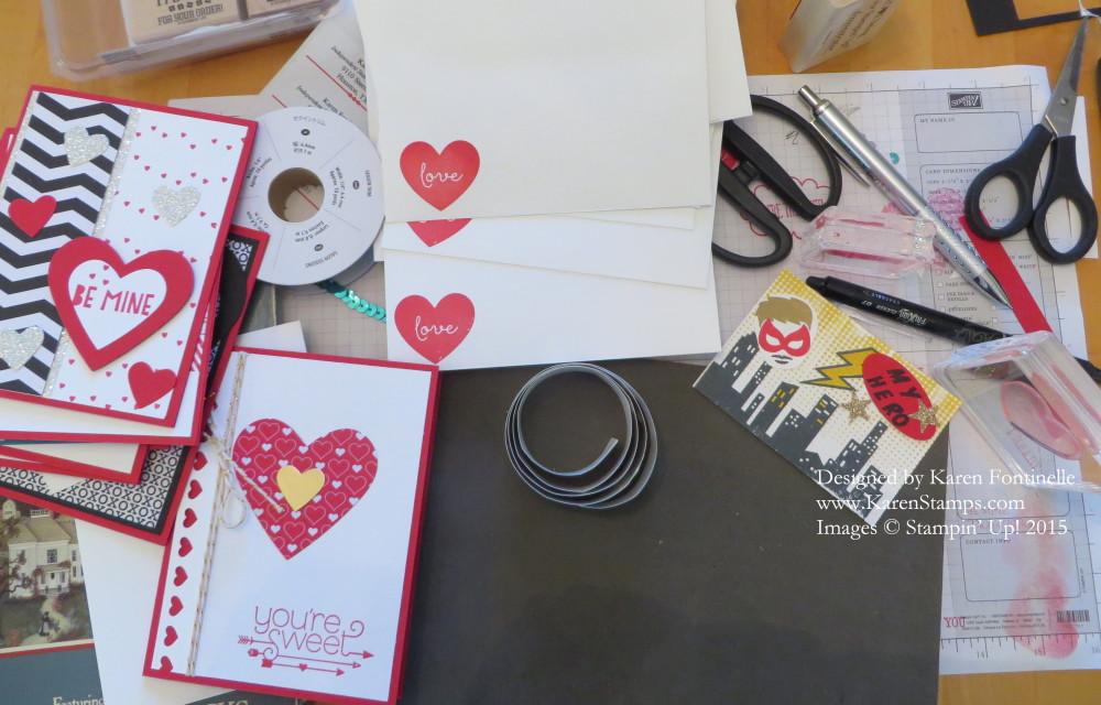 Valentine Making Day