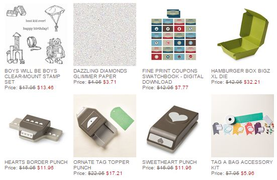 Stampin' Up! Weekly Deal Feb 3 2015