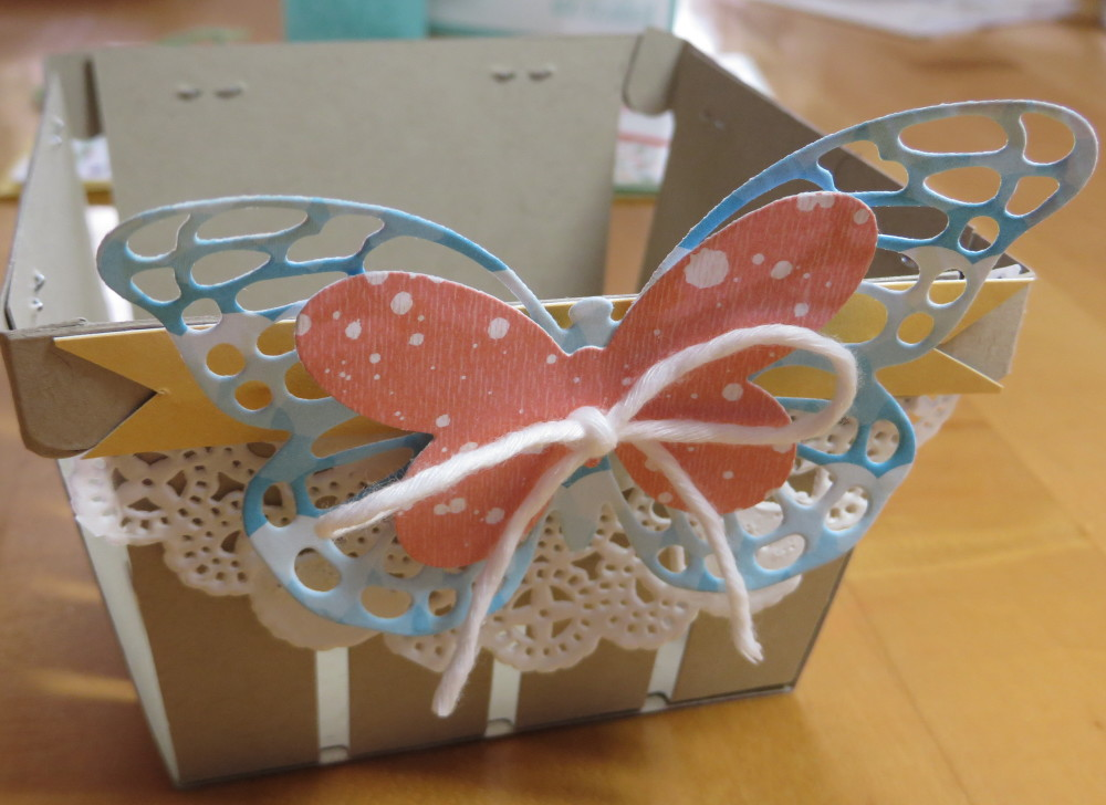 Butterfly Berry Basket