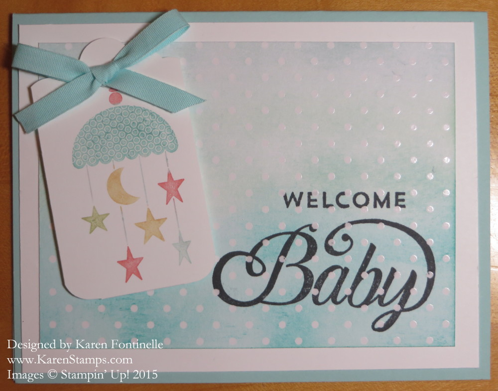 Celebrate Baby Card