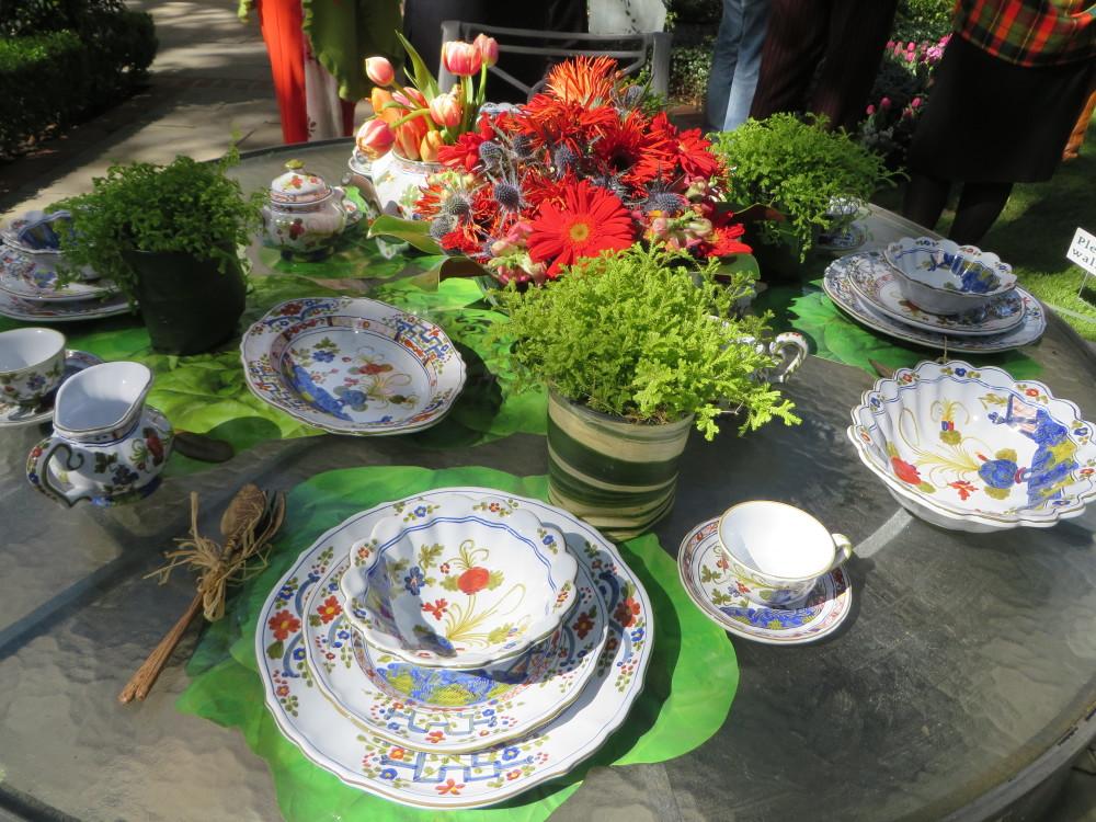 Azalea Trail Garden Party Table