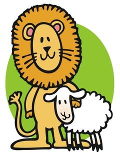 March Lion and Lamb
