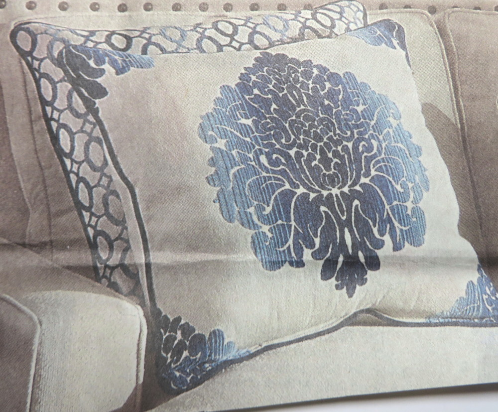 Pillow Inspiration for Card