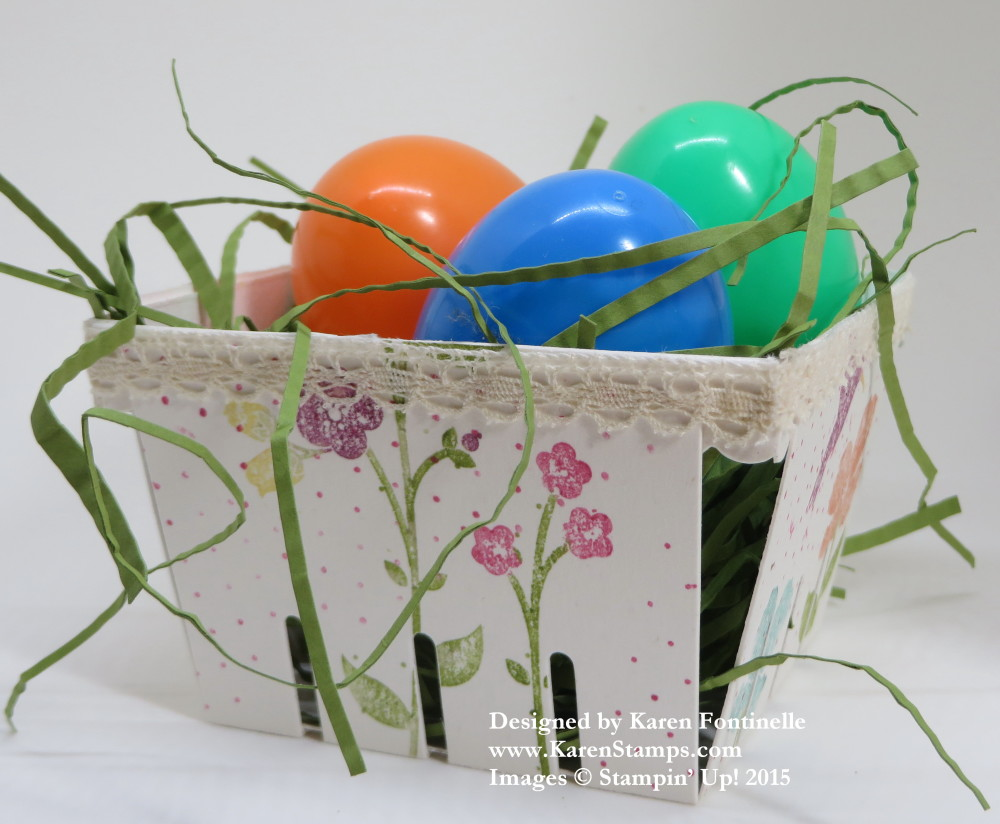 Berry Easter Basket Wildflower Meadow