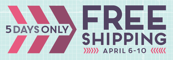 Stampin' Up! Free Shipping 2015