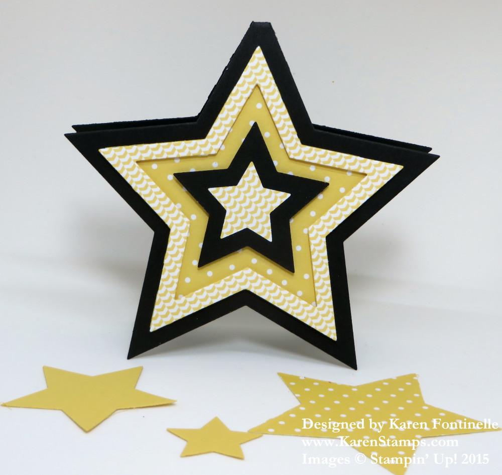 Star Framelit Card
