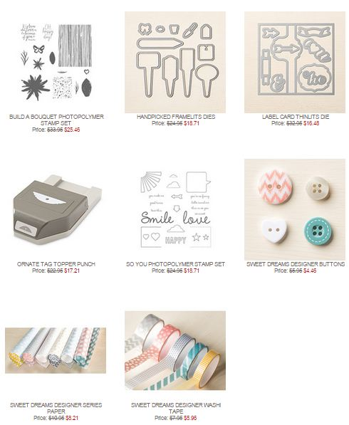 Stampin' Up! Weekly Deal April 21 2015