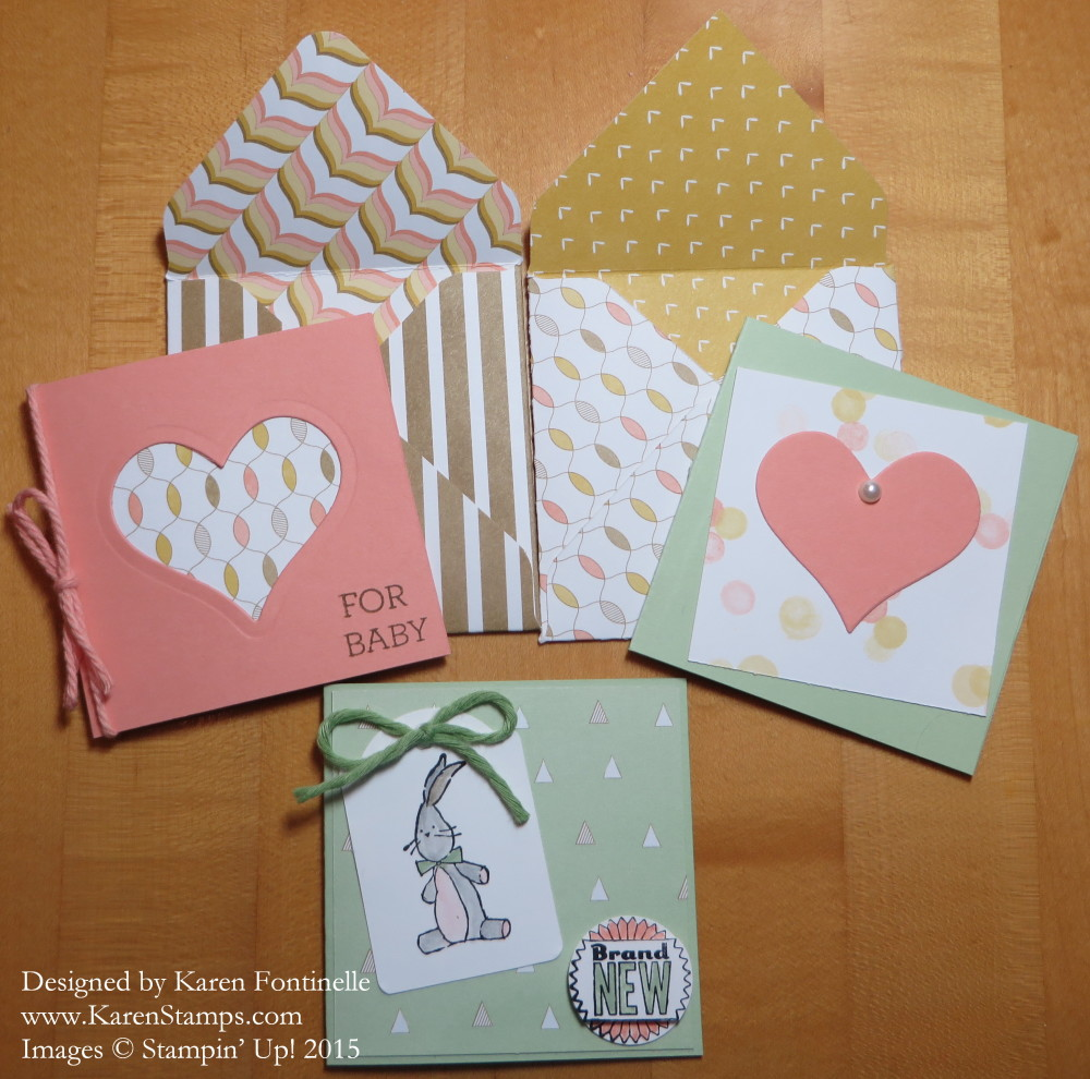 Baby Gift 3x3 Cards