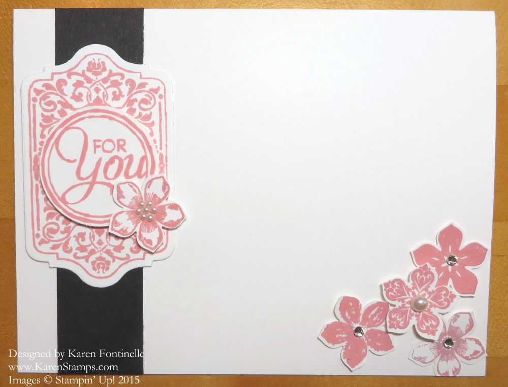 Chalk Talk Petite Petals For You Card
