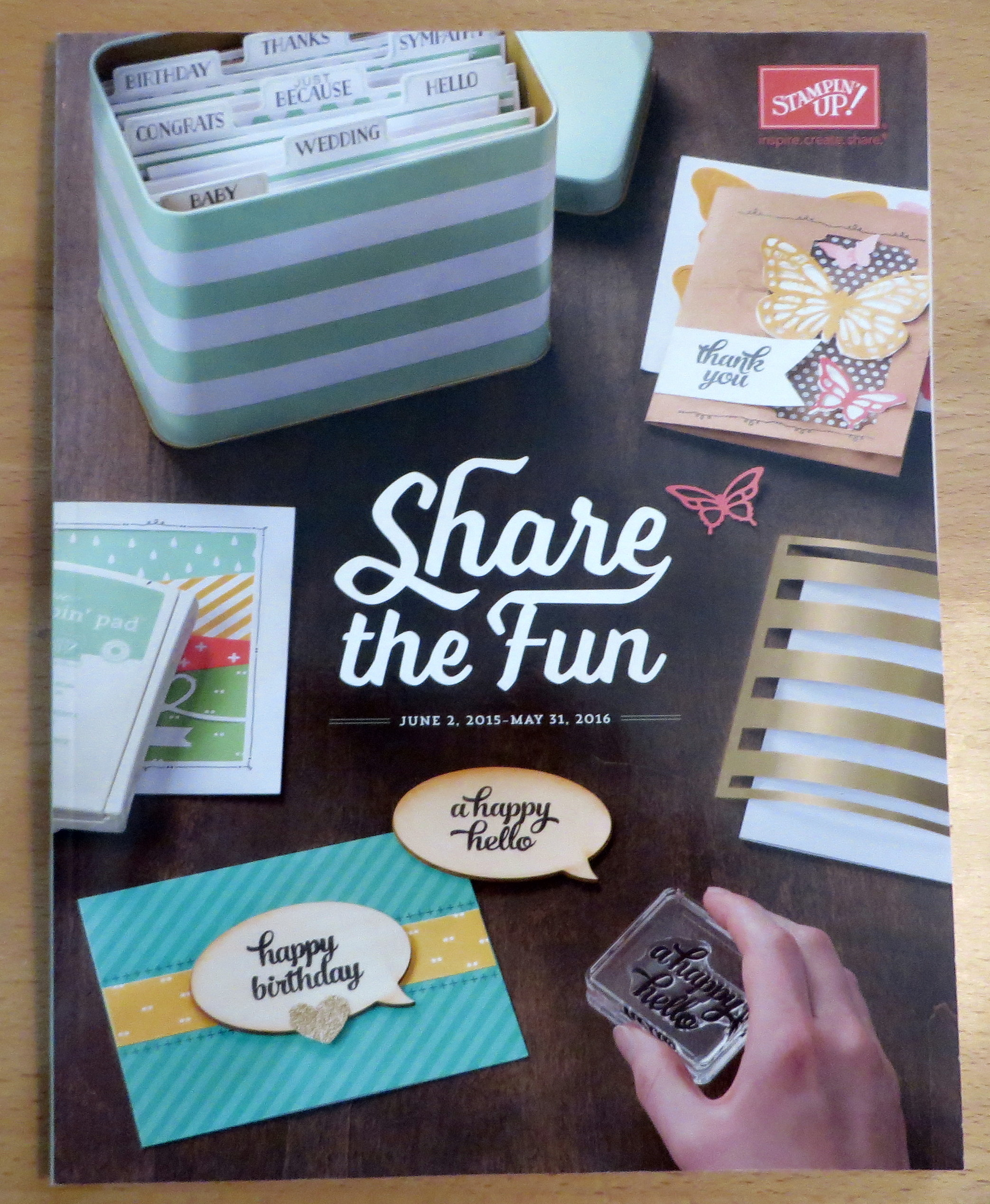 New Stampin' Up! Catalog 2015-16