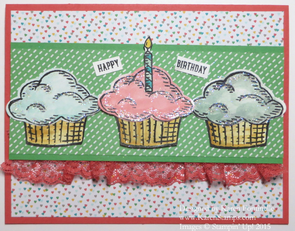 Sprinkles of Life Cupcake Birthday Card