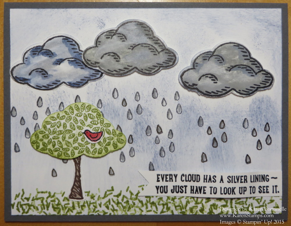Sprinkles of Life Rainy Day Card