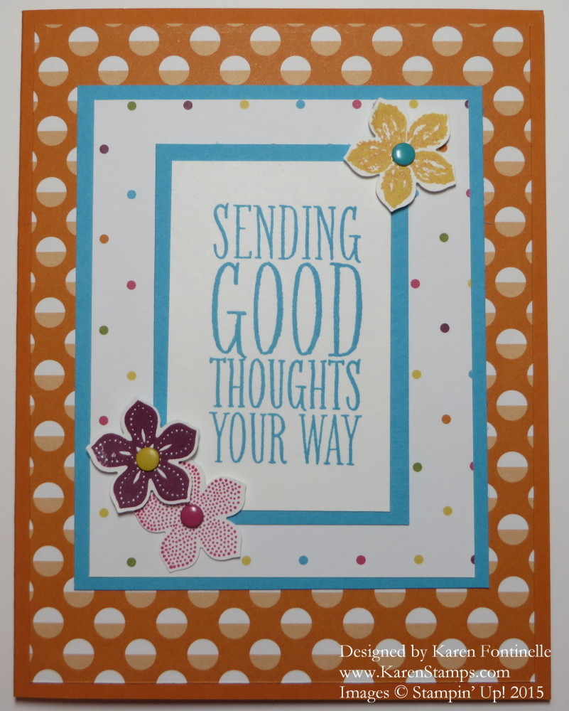 Sweet Taffy Perfect Pennants Card