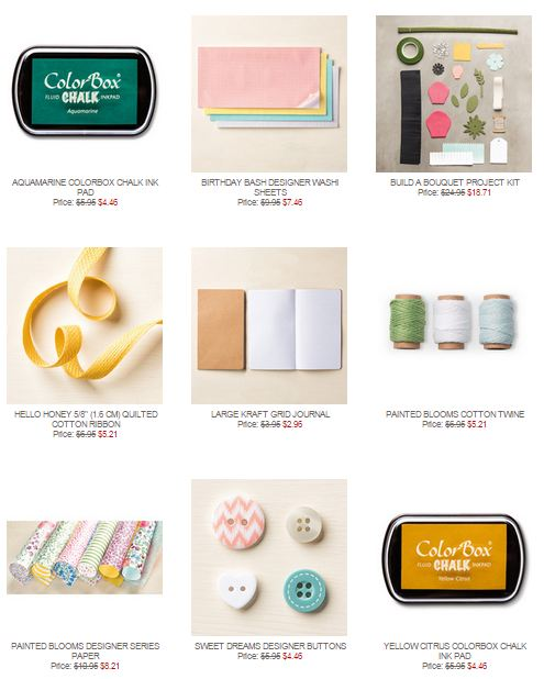 Stampin' Up! Weekly Deal May 26 2015