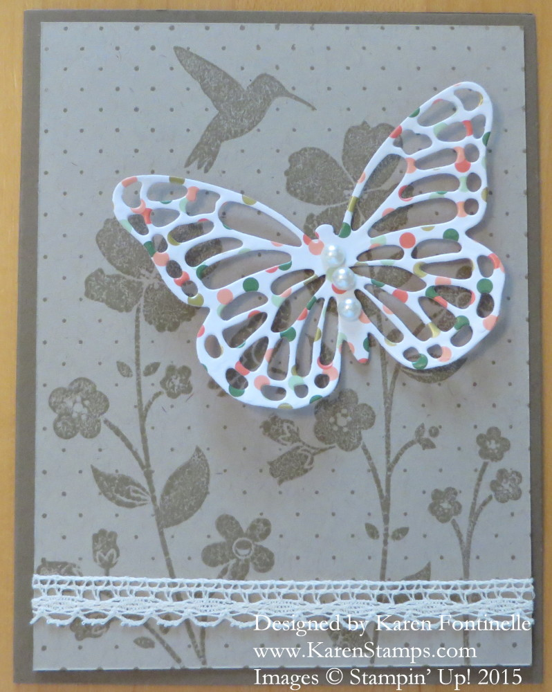 Wildflower Meadow Butterfly All Occasions Card