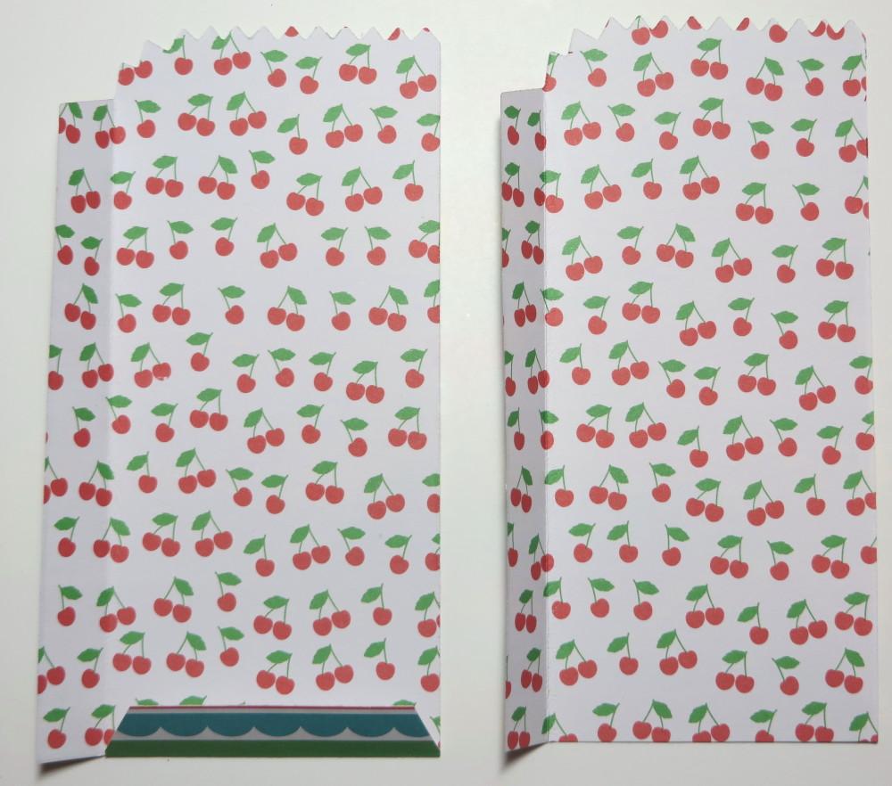 Cherry on Top Mini Treat Bag Folds