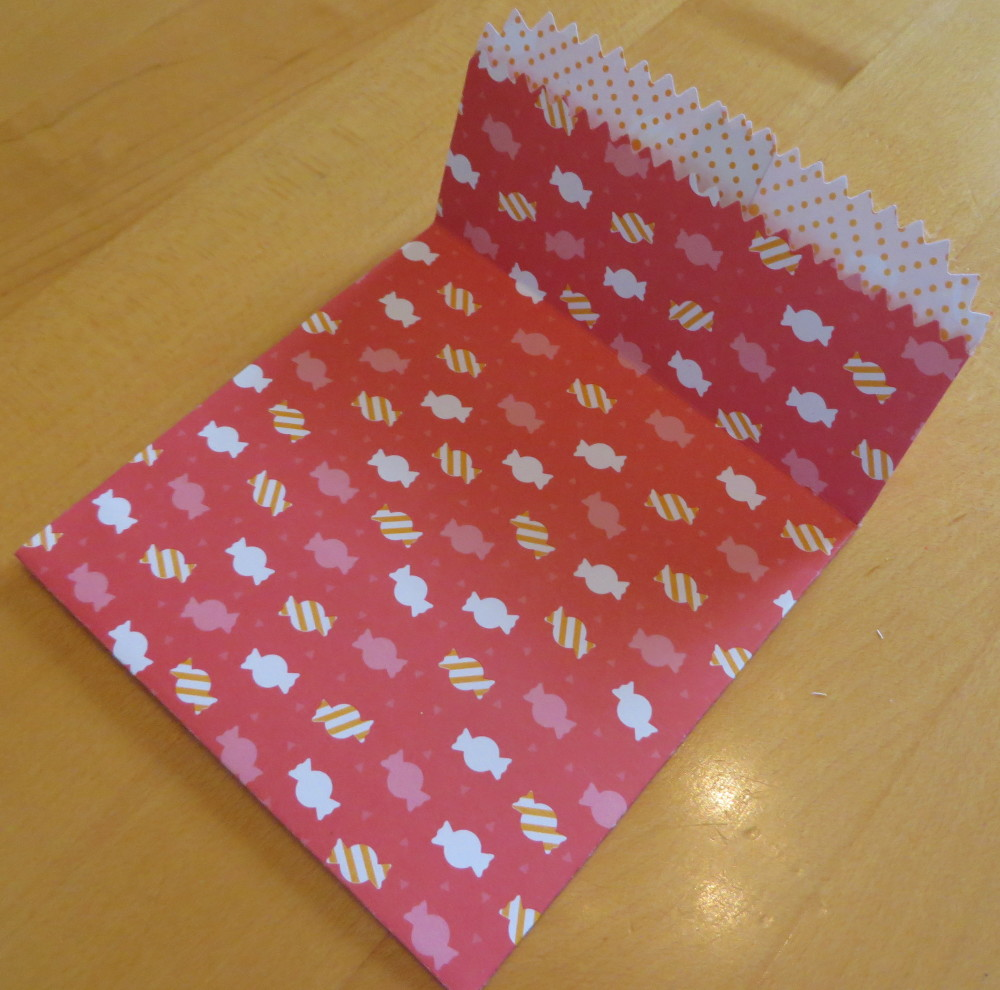 Mini Treat Bag Folded