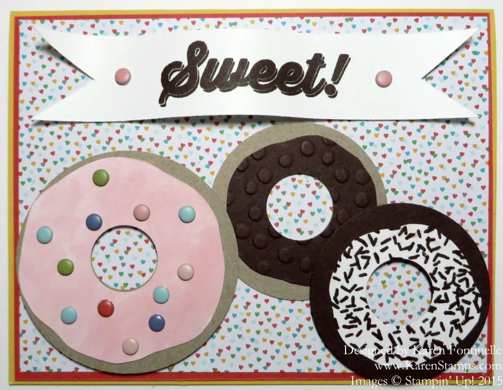 National Donut Day Sprinkles of Life Donut Card