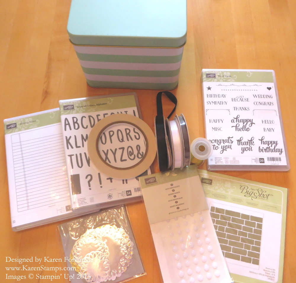 New Stampin' Up! Products 2015