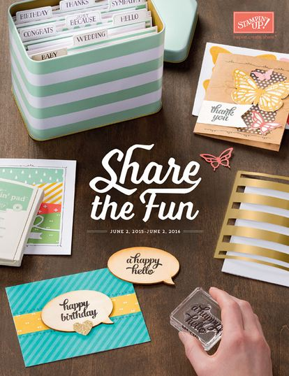 Stampin' Up! 2015-16 Annual Catalog New