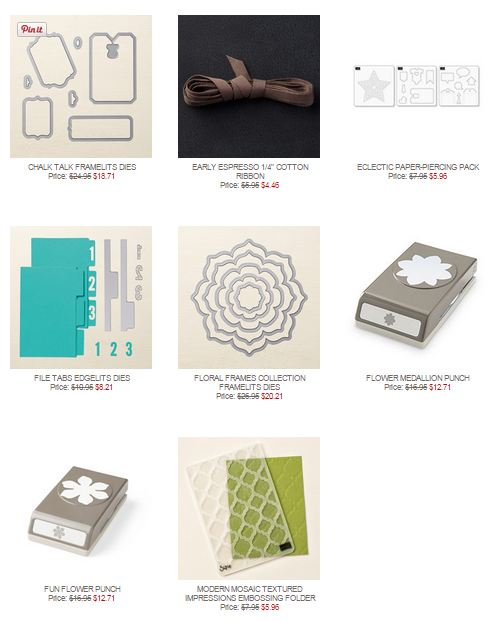 Stampin' Up! Weekly Deal June 2 2015