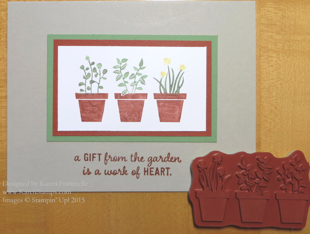 Gift From the Garden Card
