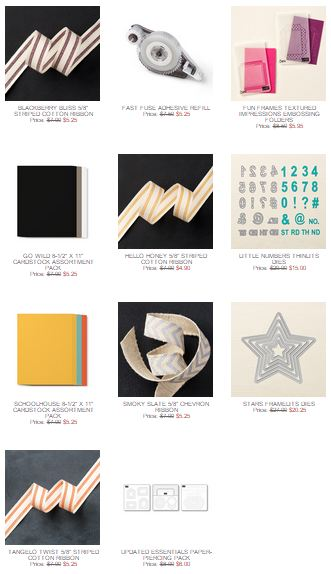 Stampin' Up! Weekly Deal July 21 2015