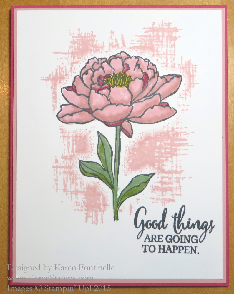 You've Got This Flower Card