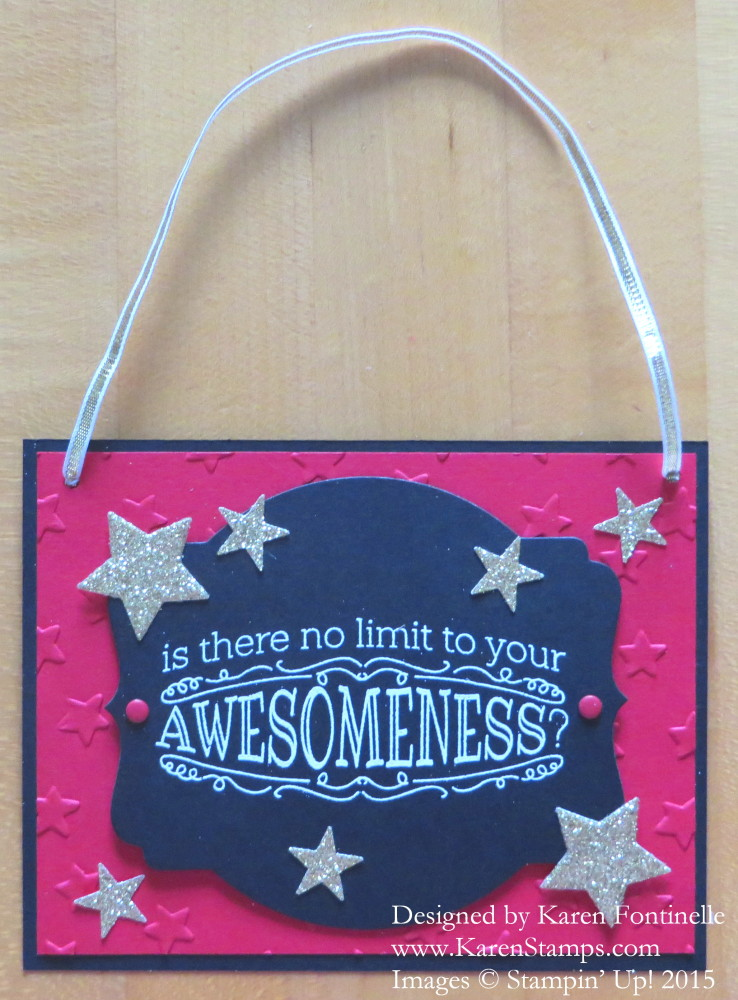 Back to School Big News Awesomeness Gift