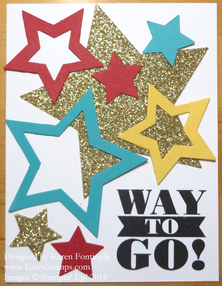 Back to School Bravo Star Card