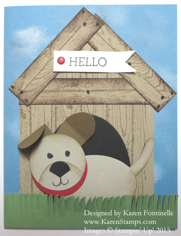 National Dog Day 2015 Card
