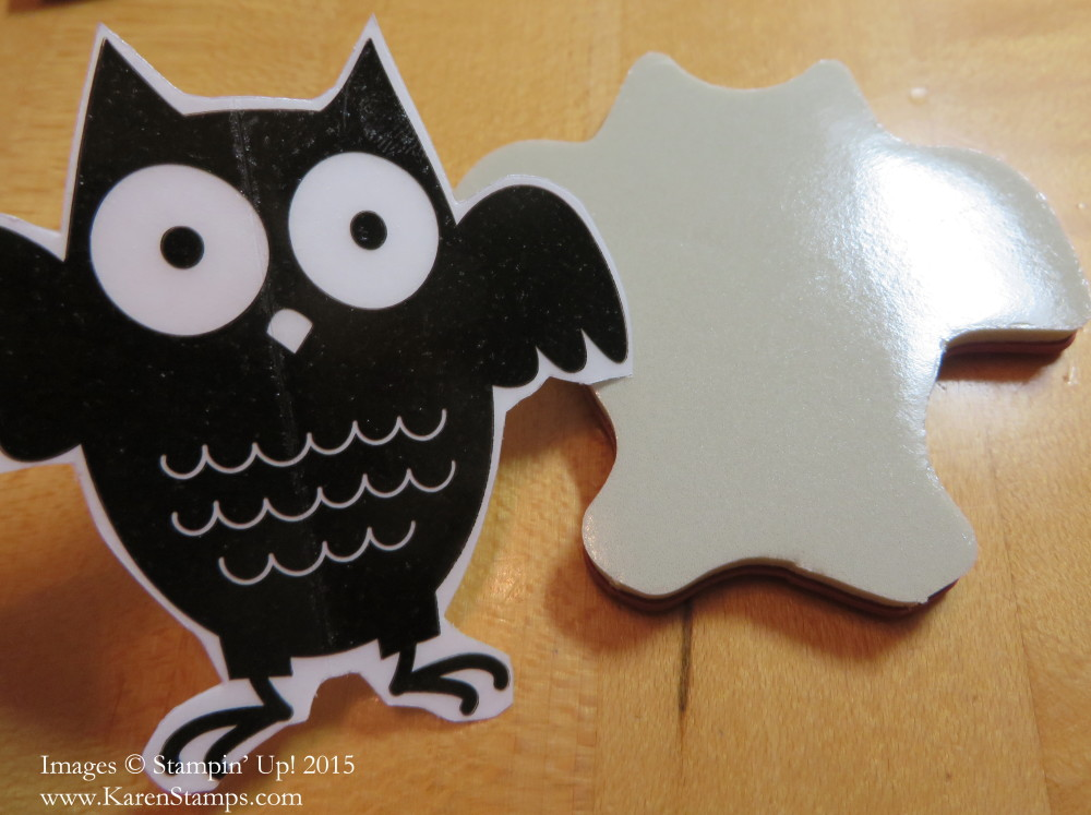 Owl Stamp and Sticker