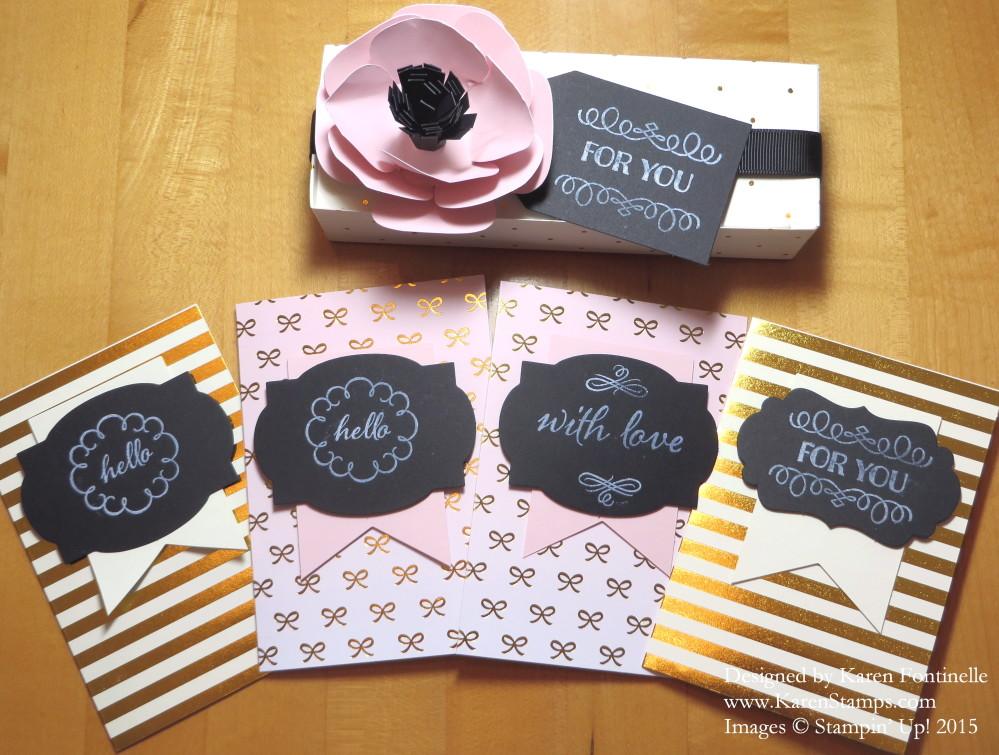 Paper Pumpkin August 2015 Kit Projects