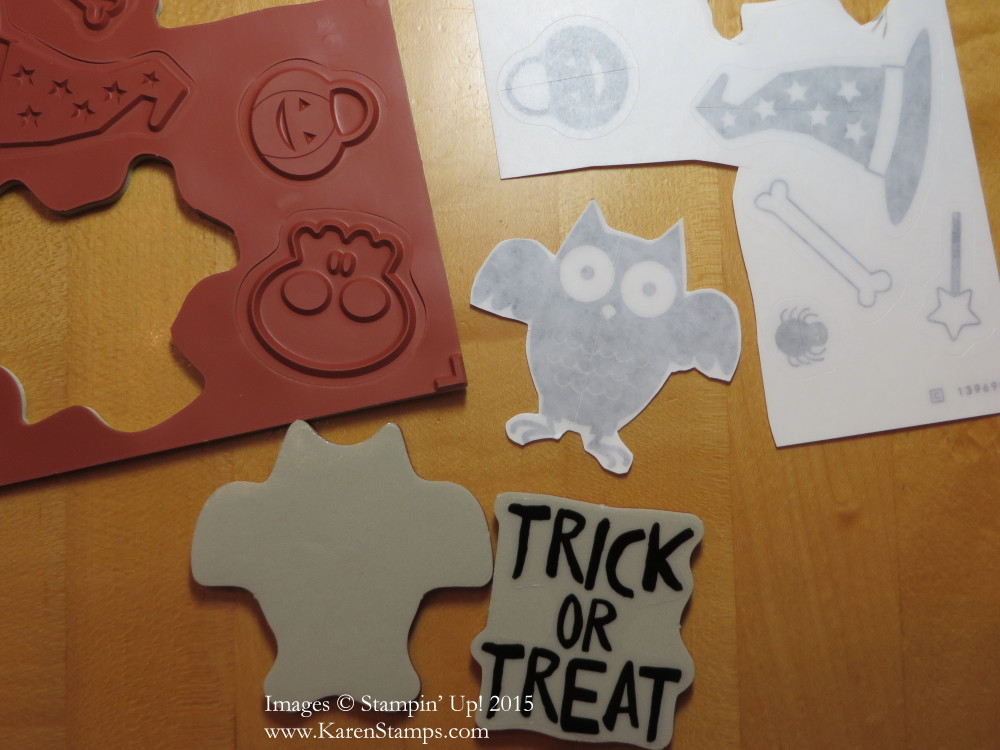 Clear-Mount Stamps and Stickers