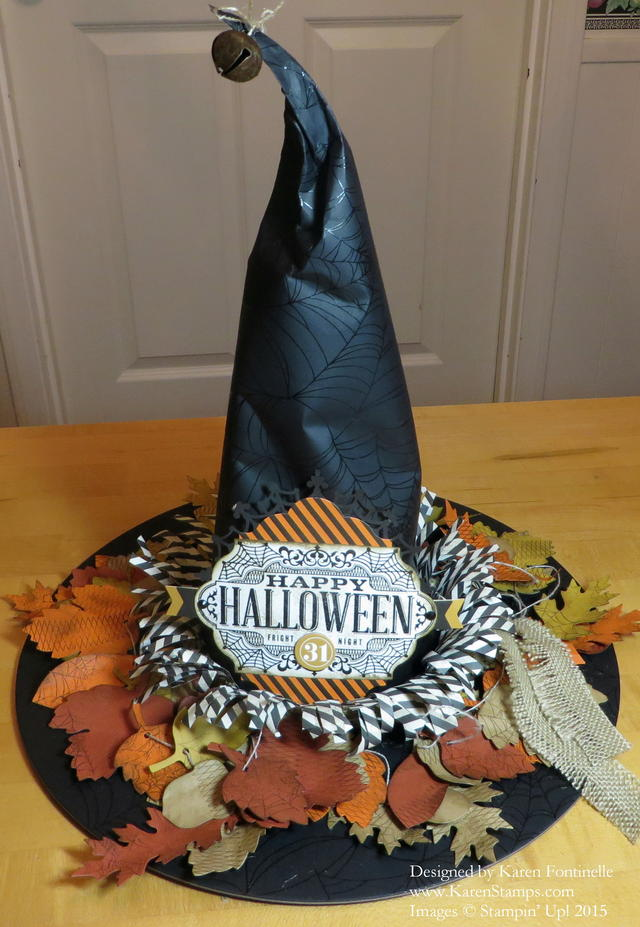 Witching Decor Project Kit Witch Hat