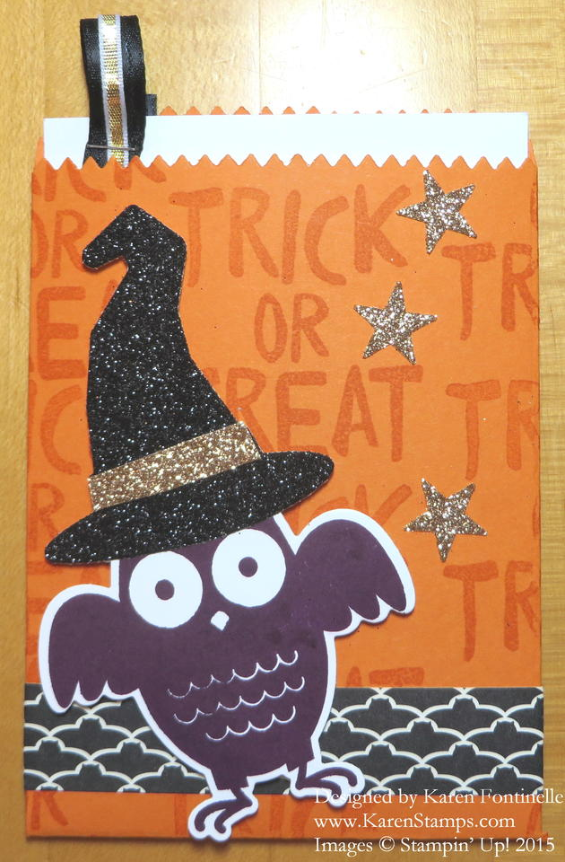 Howl-O-Ween Mini Treat Bag