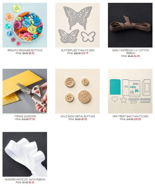Stampin' Up! Weekly Deal Sept 15 2015