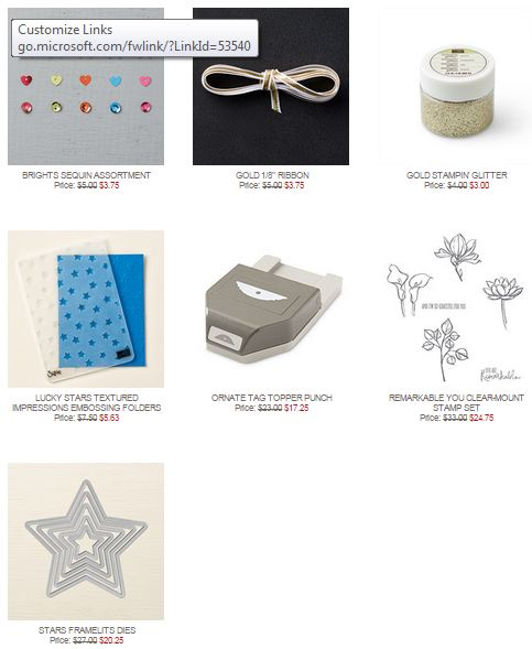 Stampin' Up! Weekly Deal Sept 22 2015