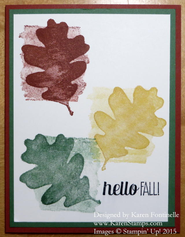 For All Things Fall Card