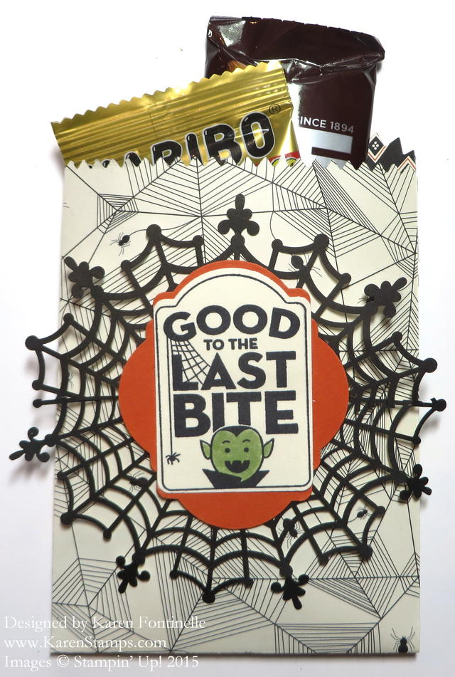 Halloween Mini Treat Bag