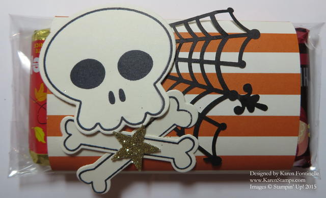 Howl-O-Ween Treat Candy Treat Wrapper