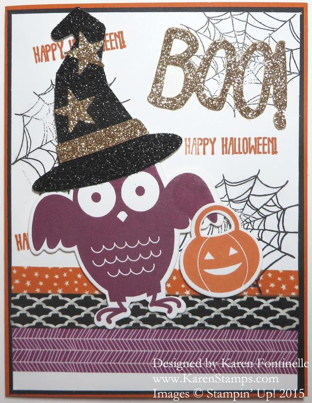Howl-O-Ween Treat Halloween Card