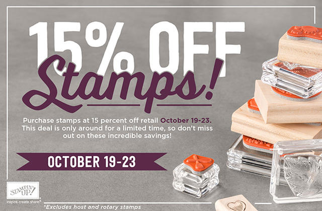 Stampin up Stamp Sale
